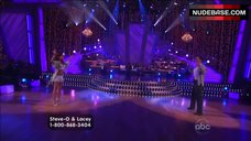 2. Lacey Schwimmer in Lingerie – Dancing With The Stars
