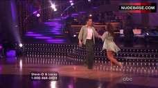 4. Lacey Schwimmer in Lingerie – Dancing With The Stars