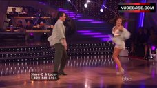 5. Lacey Schwimmer in Lingerie – Dancing With The Stars