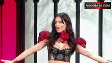 Adriana Lima Lingerie Scene – The Victoria'S Secret Fashion Show 2010