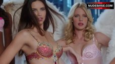 Adriana Lima Photo Shoot in Lingerie – The Crazy Ones