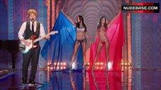 4. Adriana Lima Shows Shine Lingerie – The Victoria'S Secret Fashion Show 2014