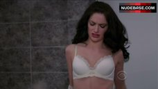 7. Janet Montgomery in White Bra – Made In Jersey