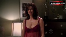 Jennifer Taylor in See Through Nighty – Two And A Half Men