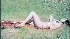 Erica Gain Lying Nude in Grass – Erika'S Hot Summer