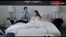 5. Jessica Lowndes Bed Scene – Larry Gaye: Renegade Male Flight Attendant