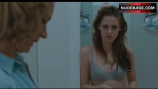 Kristen Stewart Sexy in Lace Blue Bra – Welcome To The Rileys