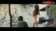 Kristen Stewart Swimming in Lingerie – Clouds Of Sils Maria