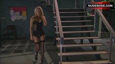 2. Miriam Mcdonald in Sexy Black Lingerie – Poison Ivy 4