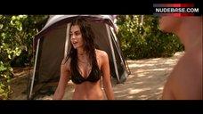 Jillian Murray in Black Sexy Bikini – Cabin Fever: Patient Zero