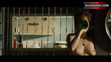 8. Leandra Leal Naked Breasts – A Wolf At The Door