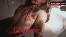 2. Suzanne Lanza Nude Scene in Bathtub – Dexter
