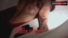 3. Suzanne Lanza Nude Scene in Bathtub – Dexter