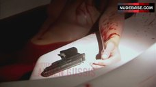 4. Suzanne Lanza Nude Scene in Bathtub – Dexter