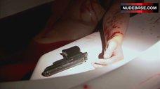 5. Suzanne Lanza Nude Scene in Bathtub – Dexter