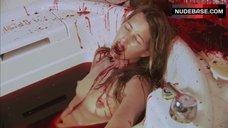 8. Suzanne Lanza Nude Scene in Bathtub – Dexter