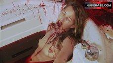 Suzanne Lanza Nude Scene in Bathtub – Dexter