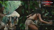 Iazua Larios Flashes Breasts – Apocalypto