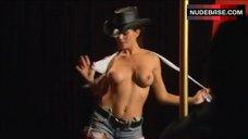 Jenae Altschwager Topless Striptease – Stripper Academy