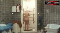 Ann Zacharias Nude in Shower – Nea