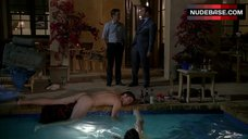 7. Sasha Grey Full Frontal Nude – Entourage