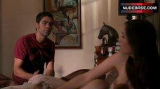9. Sasha Grey Topless Scene – Entourage