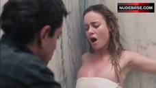 3. Brie Larson Hot Scene in Shower – Tanner Hall