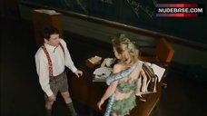 7. Brie Larson In Сostume of Eva – Tanner Hall
