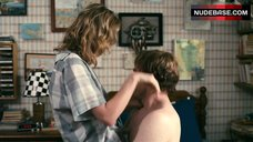 5. Brie Larson Butt in Thong – The Trouble With Bliss