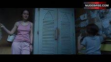 10. Brie Larson Erect Pokies – Room
