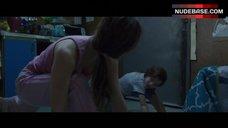 3. Brie Larson Erect Pokies – Room
