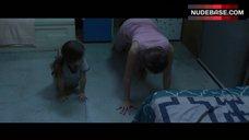 7. Brie Larson Erect Pokies – Room