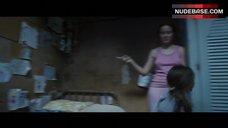 9. Brie Larson Erect Pokies – Room