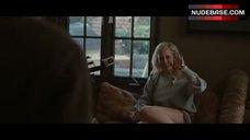3. Brie Larson Cleavage – Greenberg