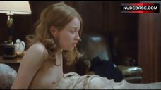 Emily Browning Shows Boobs – Sleeping Beauty