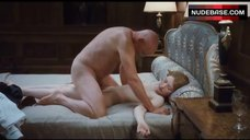 7. Emily Browning Lying Nude on Bed – Sleeping Beauty