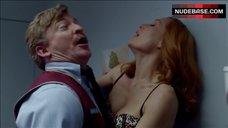 Gillian Anderson Lingerie Scene – The X-Files