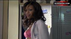 Jaime Lee Kirchner in Hot Pink Lingerie – Mercy