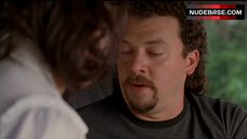 1. Katy Mixon Shows Tits in Car – Eastbound & Down