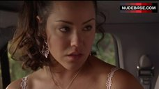 5. Katy Mixon Shows Tits in Car – Eastbound & Down