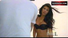 Kourtney Kardashian in Sexy Lingerie – Keeping Up With The Kardashians