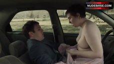Lena Dunham Sex in Car – Girls