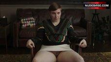 Lena Dunham Shows Pussy – Girls
