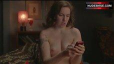 Lena Dunham Shows Naked Tits – Girls