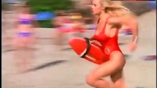 Pamela Anderson in Red Swimsuit – Baywatch