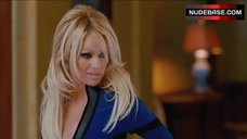 Pamela Anderson in Sexy Costume – Superhero Movie