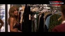 Lindsay Sloane in Lingerie in Store – The Tv Set