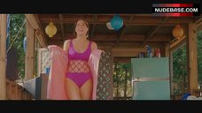 Lindsay Sloane Hot in Pink Swimsuit – She'S Out Of My League