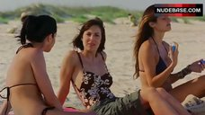 Lindsay Sloane in Floral Swimsuit – A Good Old Fashioned Orgy