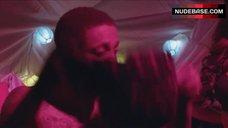 9. Kayla Collins Sexy in Lingerie – School Dance